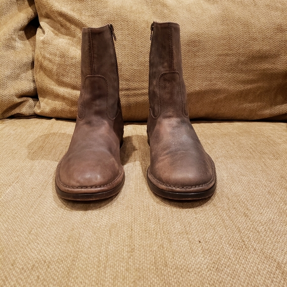 JOHN VARVATOS Mens Leather Boots